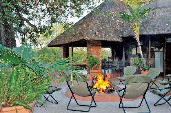 Bond around the Djuma Galago Camp fire place and listen to bush tales.