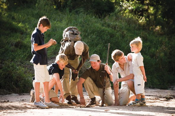 Lion Sands family lodges offer children safaris.
