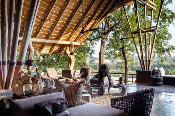 Singita Boulders celebrates tranquility combined with luxury and comfort.